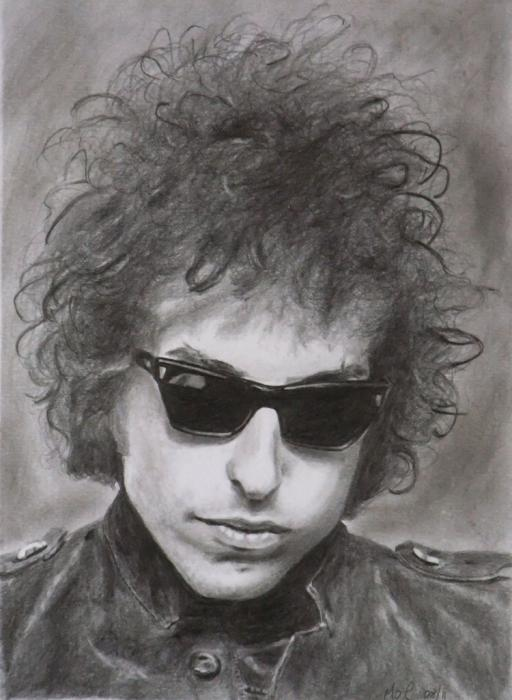 Bob Dylan by MikeOC